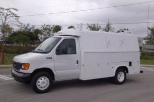 2003 Ford E-Series Van KUV Service Utility Body FL Truck