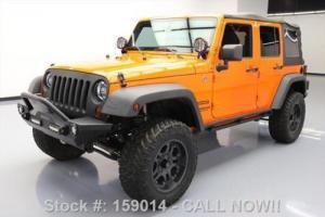 2012 Jeep Wrangler UNLTD SPORT 4X4 6SPEED LIFTED