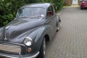 morris minor 1964 34K Original 6 Digit Number plate