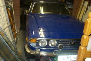 Triumph Stag Mk 2 1976 - Triumph Manual V8 Delft Blue  Soft and hard tops