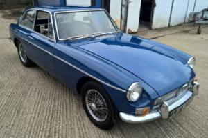 1967 MG MGB GT overdrive in Mineral Blue, chrome wires, lovely car, no reserve Photo