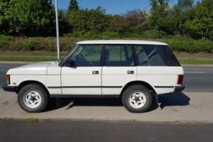 Range Rover Classic 1995  5 door white Photo