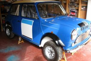 TARMAC RALLY CLASSIC MINI WITH MK1 BODY MODS,1380cc SC GEAR BOX,READY TO USE. Photo