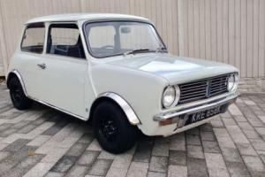 1972 AUSTIN MINI CLUBMAN British Leyland, Low miles, 2 owners, rare tax exempt Photo