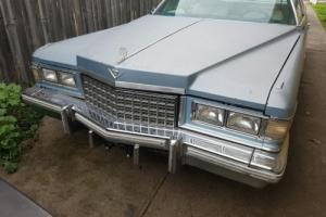 *Price Drop* 1976 Cadillac De Ville Coupe - Left Hand Drive