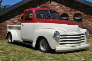 1948 CHEV PICK UP, 454 BB, 9IN, 4 LINK REAR, RODTECH FRONT, AUS. COMPLIED RHD
