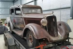 1934 Plymouth Sedan, may suit Hotrod,Holden,Chev,Ford, Monaro Collector buyer