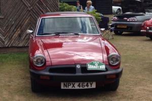 classic  car MGB GT Photo
