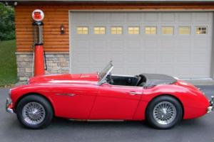 1962 Austin Healey 3000 Triple Carb