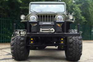 Willys Jeep 1948 American 4x4 modified 1 off custom 302 5.0 v8 swap swop px Photo