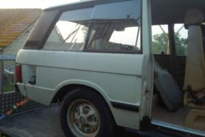 RANGE ROVER Classic  2 door suffix F Photo