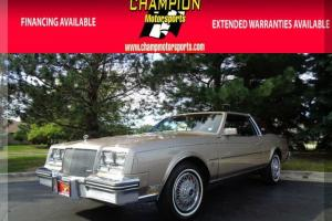 1985 Buick Riviera 2dr Coupe Photo