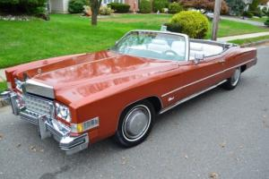 1973 Cadillac Eldorado Convertible * Cruiser * California Car NO RESERVE