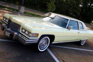 1976 Cadillac DeVille 13,837 original miles 75 74 73 72 71 70 69 68 67 66