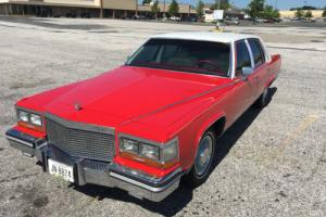 1987 Cadillac Brougham Fleetwood Photo