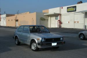 1981 Honda Civic 1)DX/1)GL Photo
