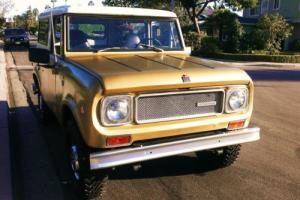 1969 International Harvester Scout 800A V8 4x4