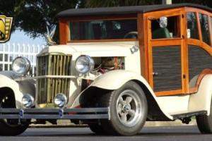 1932 International Station Wagon Woody