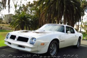 1976 Pontiac Trans Am 455ci 4-speed