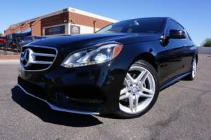 2014 Mercedes-Benz E-Class 14 E350 AMG Sport Pkg E Class 350 Sedan 1 Owner