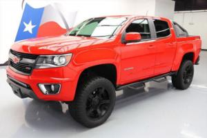 2016 Chevrolet Colorado Z71 CREW 4X4 LIFTED NAV 20'S