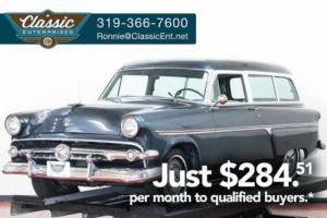 1954 Ford Ranch Wagon Customline 2 door rare station wagon ready to go