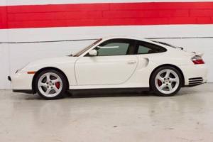 2001 Porsche 911 Turbo AWD 2dr Coupe Coupe 2-Door Automatic 5-Speed