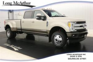 2017 Ford F-350 KING RANCH 4X4 CREW CAB DUALLY  NAV  MSRP $74720