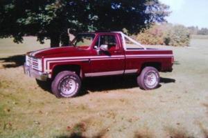 1984 Chevrolet C/K Pickup 2500
