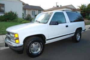 1999 Chevrolet Tahoe 1999 CHEVY TAHOE 2 DOOR 2WD 102K ONE OWNER