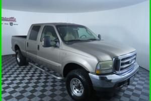 2003 Ford F-250 XLT 4x4 6.0L V8 Power Stroke Engine Crew Cab Truck Photo