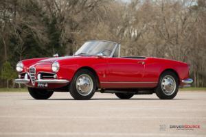 1963 Alfa Romeo Spider