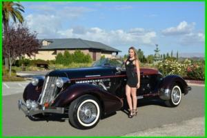 1934 Replica/Kit Makes Speedster AUBURN CORD DUESENBERG CO. ORIGINAL REPLICA