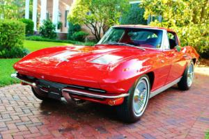 1963 Chevrolet Corvette Split Window 327 4bbl 4-Speed Rare Classic Muscle! Photo