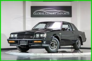 1987 Buick Regal Grand National Turbo Photo