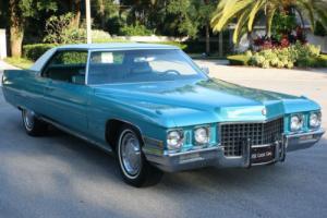 1971 Cadillac DeVille RESTORED