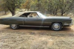 1972 Cadillac Eldorado TOP MODEL