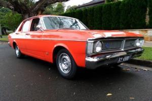 1971 Ford XY Falcon 500 6 cyl top loader unrestored survivor