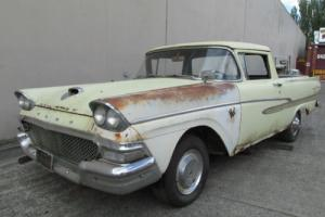 FORD 1958 RANCHERO LHD GOLD FLASH UTE USA MAINLINE CUSTOM PICKUP F100