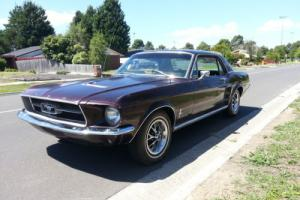 FORD MUSTANG. S CODE 390 ,AUTO,COUPE,1967,DELUXE INTERIOR,PWR STR,DISC BRAKES,