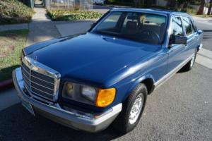 1985 Mercedes-Benz 300-Series 300SD TURBO DIESEL SEDAN WITH 82K MILES Photo