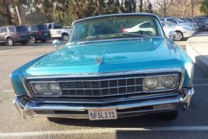 1966 Chrysler Imperial crown Imperial