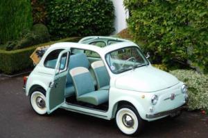 1962 Fiat 500 500D Trasformabile