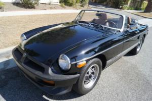 1980 MG MGB LIMITED EDITION WITH RARE DEALER INSTALLED A/C!