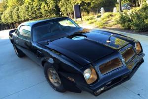1976 Pontiac Firebird Trans Am 50th Anniversary SE