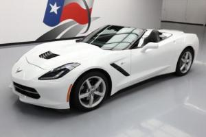 2014 Chevrolet Corvette CONVERTIBLE 2LTSPEED NAV HUD