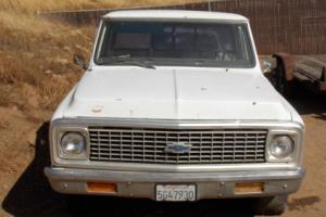 1972 Chevrolet C-10 short bed step side