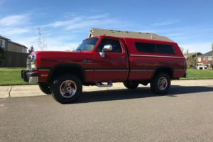 1991 Dodge Other Pickups LE W250 Cummins diesel 4X4 1234567890