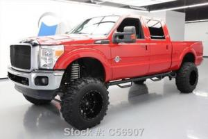 2011 Ford F-250 LARIAT CREW DIESEL 4X4 LIFT SUNROOF 20'S