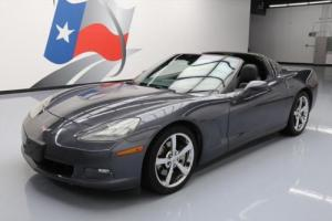 2010 Chevrolet Corvette 1LT TARGASPEED LEATHER
